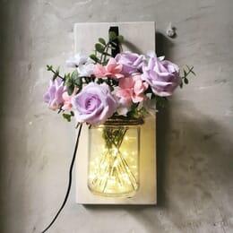 Tranh Gỗ và Đèn Hoa